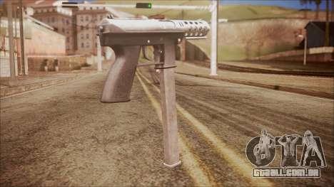 TEC-9 v2 from Battlefield Hardline para GTA San Andreas segunda tela