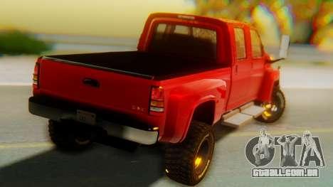 GMC Topkick C4500 para GTA San Andreas esquerda vista