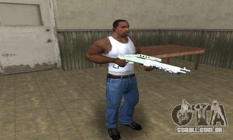 Graf Spas-12 para GTA San Andreas terceira tela