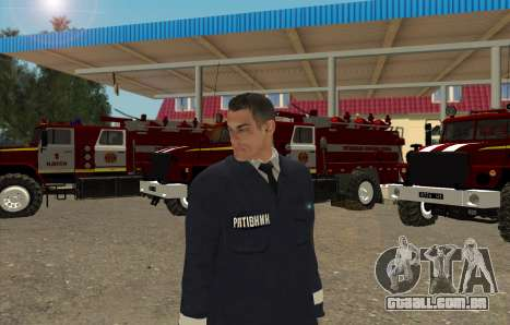 Equipes De Resgate Ucrânia para GTA San Andreas