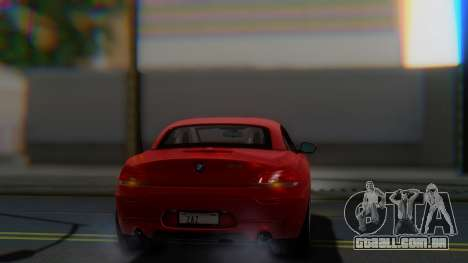 BMW Z4 sDrive35is 2011 2 Extras para vista lateral GTA San Andreas
