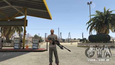 Halo UNSC: Sniper Rifle para GTA 5