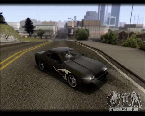 Elegy Hard Stunt para GTA San Andreas vista inferior