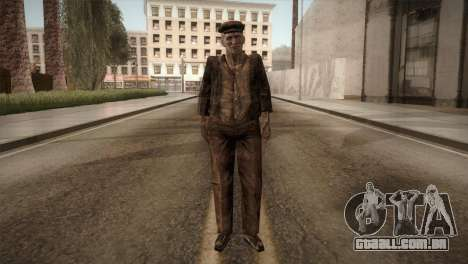 RE4 Don Esteban para GTA San Andreas segunda tela