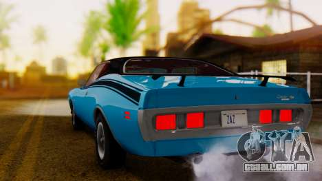 Dodge Charger Super Bee 426 Hemi (WS23) 1971 IVF para GTA San Andreas esquerda vista