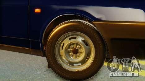 VAZ 2108 Stoke para GTA San Andreas traseira esquerda vista