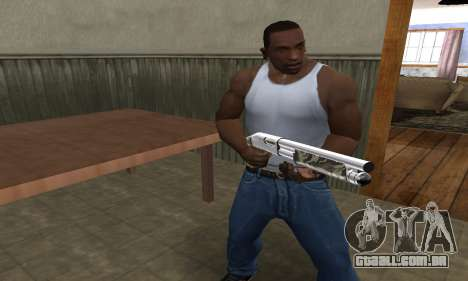 Militarry Shotgun para GTA San Andreas terceira tela