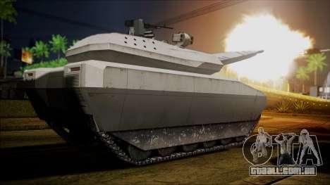 PL-01 Concept Desert para GTA San Andreas traseira esquerda vista