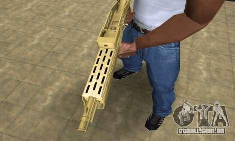 Zloty Tajfun Combat Shotgun para GTA San Andreas segunda tela