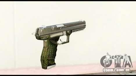 Pistol from Crysis 2 para GTA San Andreas segunda tela