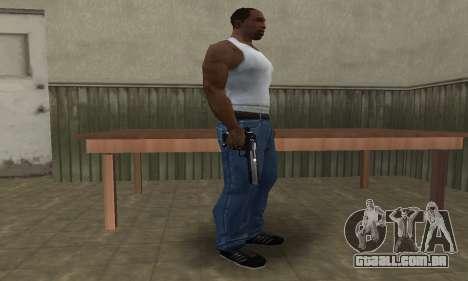Military Deagle para GTA San Andreas segunda tela