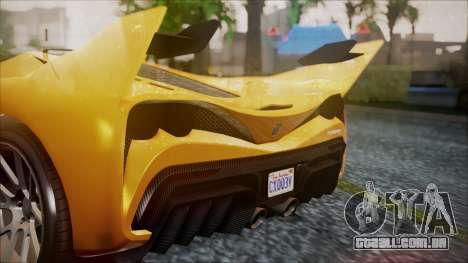 Grotti Turismo RXX-K para GTA San Andreas