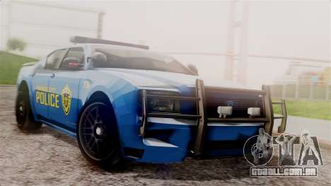 Hunter Citizen from Burnout Paradise v2 para GTA San Andreas