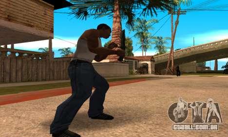 Cool Knife para GTA San Andreas terceira tela