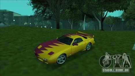 ZR-350 Double Lightning para as rodas de GTA San Andreas