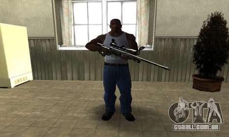 Lithy Sniper Rifle para GTA San Andreas segunda tela