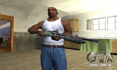 Sawn-Off Shotgun para GTA San Andreas terceira tela
