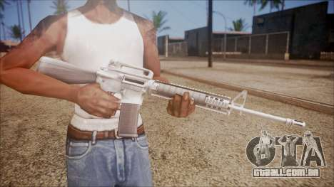 M16A3 from Battlefield Hardline para GTA San Andreas terceira tela