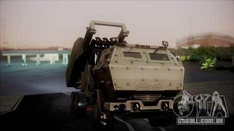 M142 HIMARS Desert Camo para GTA San Andreas vista direita