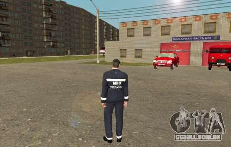 Equipes De Resgate Ucrânia para GTA San Andreas segunda tela