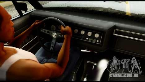 GTA 5 Vapid Chino Tuning v1 para GTA San Andreas traseira esquerda vista