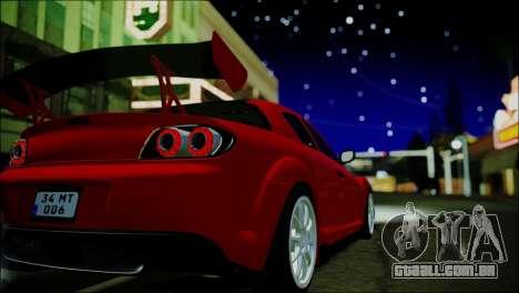 ENBTI for High PC para GTA San Andreas segunda tela