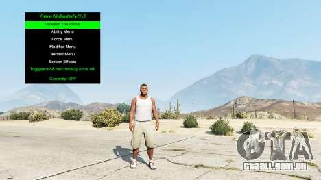 GTA 5 Poder infinito v0.3 terceiro screenshot
