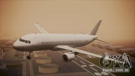 Airbus A320-200 para GTA San Andreas
