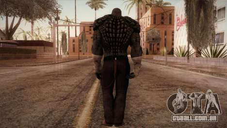 Killer Croc (Batman Arkham Origins) para GTA San Andreas terceira tela