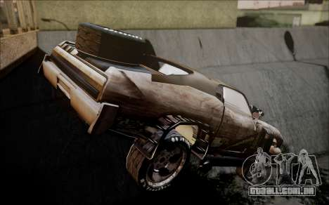 Mad Max 2 Ford Landau para GTA San Andreas esquerda vista