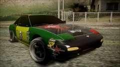 Nissan 240SX Pro Street para GTA San Andreas