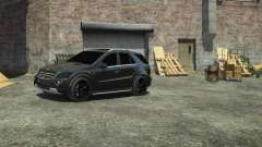 Mercedes-Benz ML63 AMG para GTA 4