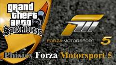 Physics from Forza Motorsport 5 para GTA San Andreas