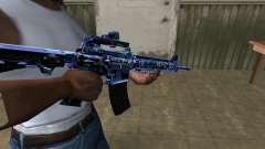 Cold M4 para GTA San Andreas