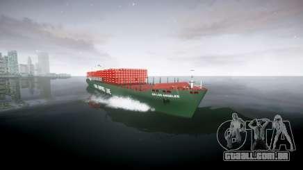 Um navio de contentores para GTA 4