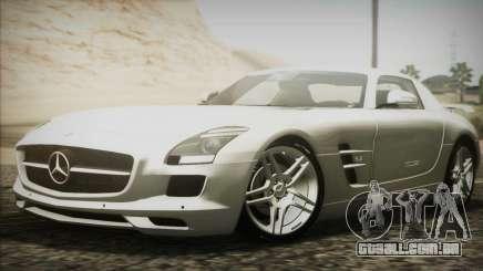 Mercedes-Benz SLS AMG 2013 para GTA San Andreas