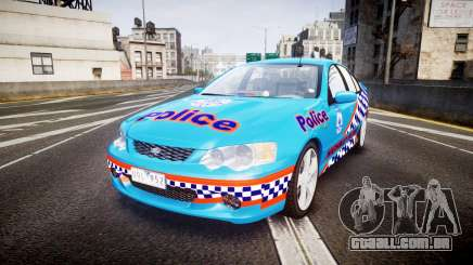 Ford Falcon BA XR8 Police [ELS] para GTA 4