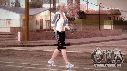 Endurance Cassie Cage from Mortal Kombat X para GTA San Andreas