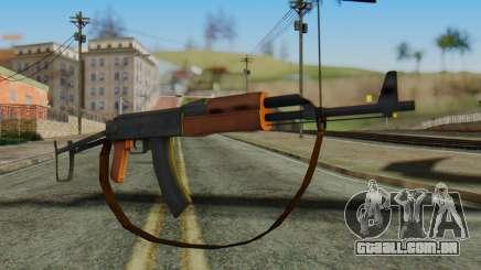 AK-47S with Strap para GTA San Andreas