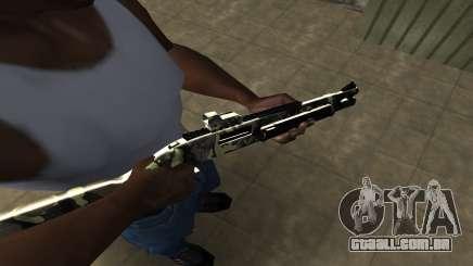 Camo Espingarda para GTA San Andreas