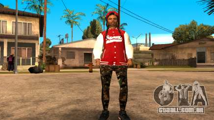 Army Girl para GTA San Andreas