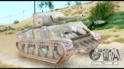 M4 Sherman 75mm Gun Urban para GTA San Andreas