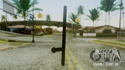 Police Baton from Silent Hill Downpour v2 para GTA San Andreas