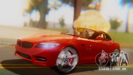 BMW Z4 sDrive35is 2011 2 Extras para GTA San Andreas