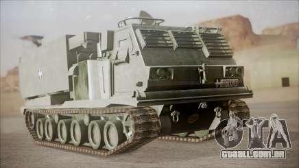 Hellenic Army M270 MLRS para GTA San Andreas