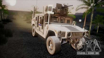 HMMWV Croatian Army ISAF Contigent para GTA San Andreas