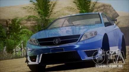 Benefactor Schwartzer Gray Series para GTA San Andreas