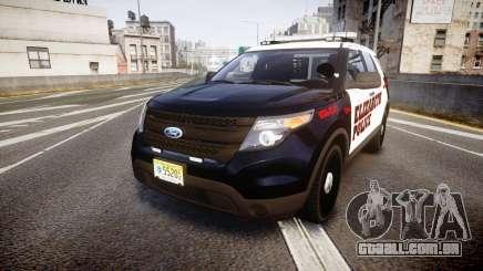 Ford Explorer 2011 Elizabeth Police [ELS] para GTA 4