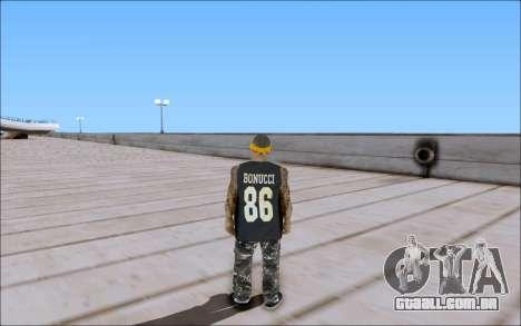 Los Santos Vagos Skin Pack para GTA San Andreas por diante tela