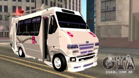 Ford Prisma IV Microbus para GTA San Andreas
